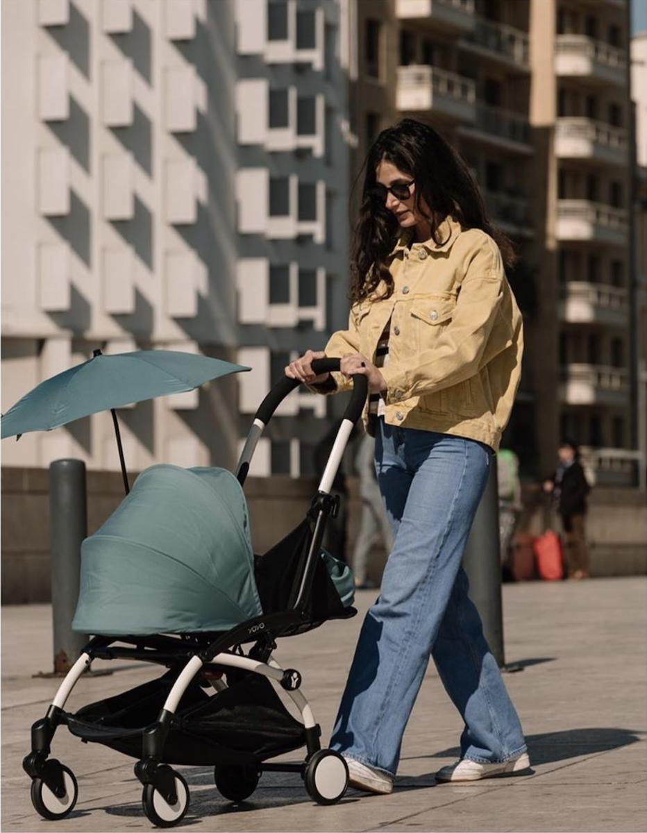 yoyo plus babyzen couleur vert promenade poussette design et confort pour bébé - blog déco - clematc