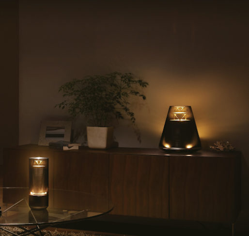Yamaha Relit enceinte lumineuse design bluetooth connectee moderne Lifestyle