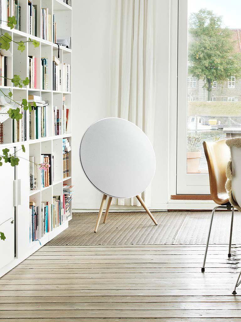 enceinte design bluetooth ronde circulaire pied bang & Olufsen A9 mk3 review