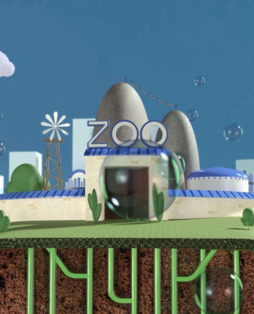 zoo de thoiry alimente biométhanisation déchets du parc animalier