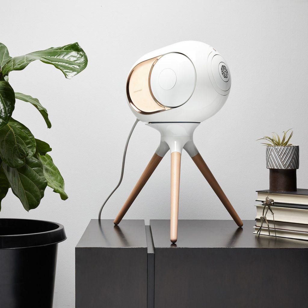 Devialet Treepod test decoration moderne maison scandinave plante verte equipement audio conseil