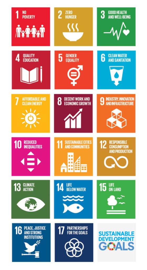 17 objectifs du développement durablde lagenda 2030 adopté par nations unies clematc