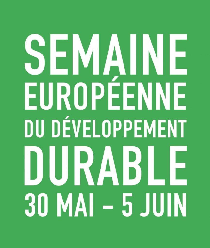semaine européenne du développement durable affiche 3 mai au 5 juin 2019 environnement - blog déco - clemaroundthecorner