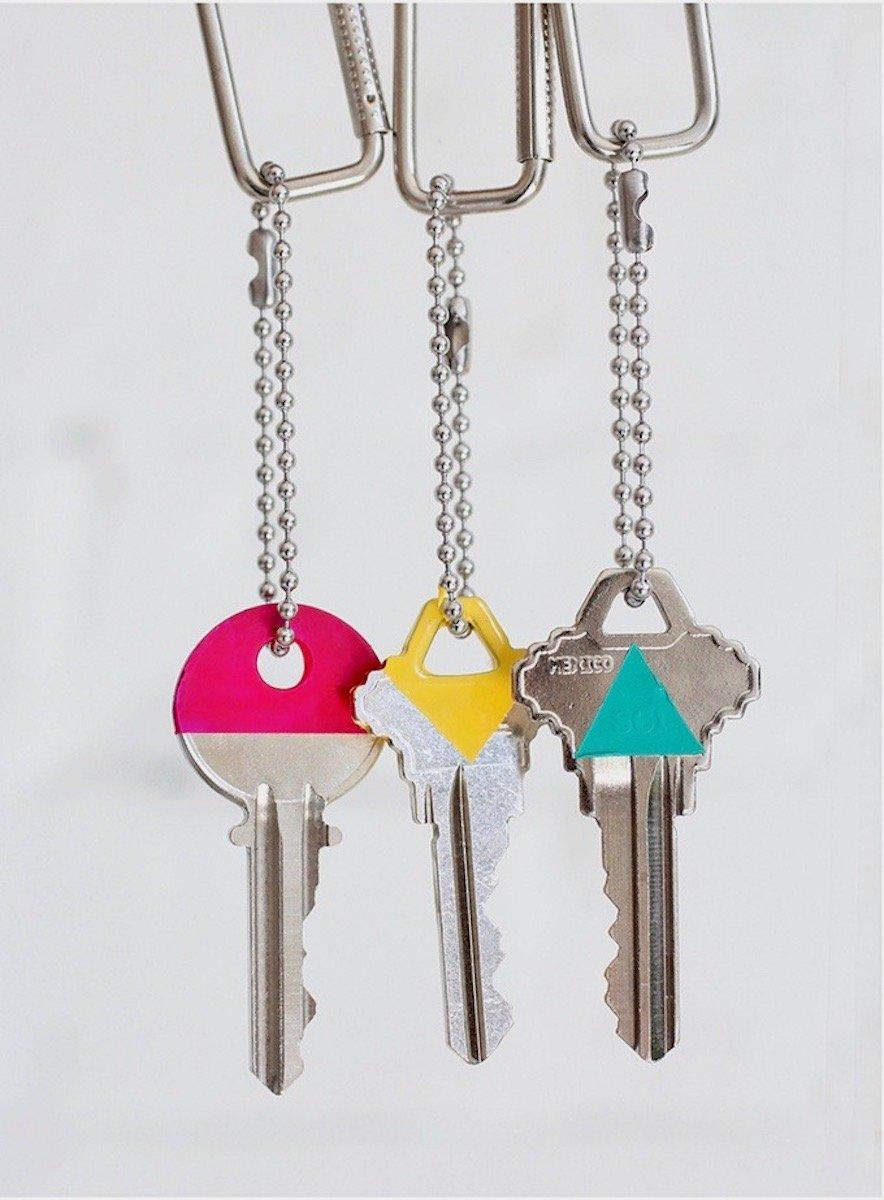 décorer ses clés astuce organisation maison marie kondo deco décoration deco