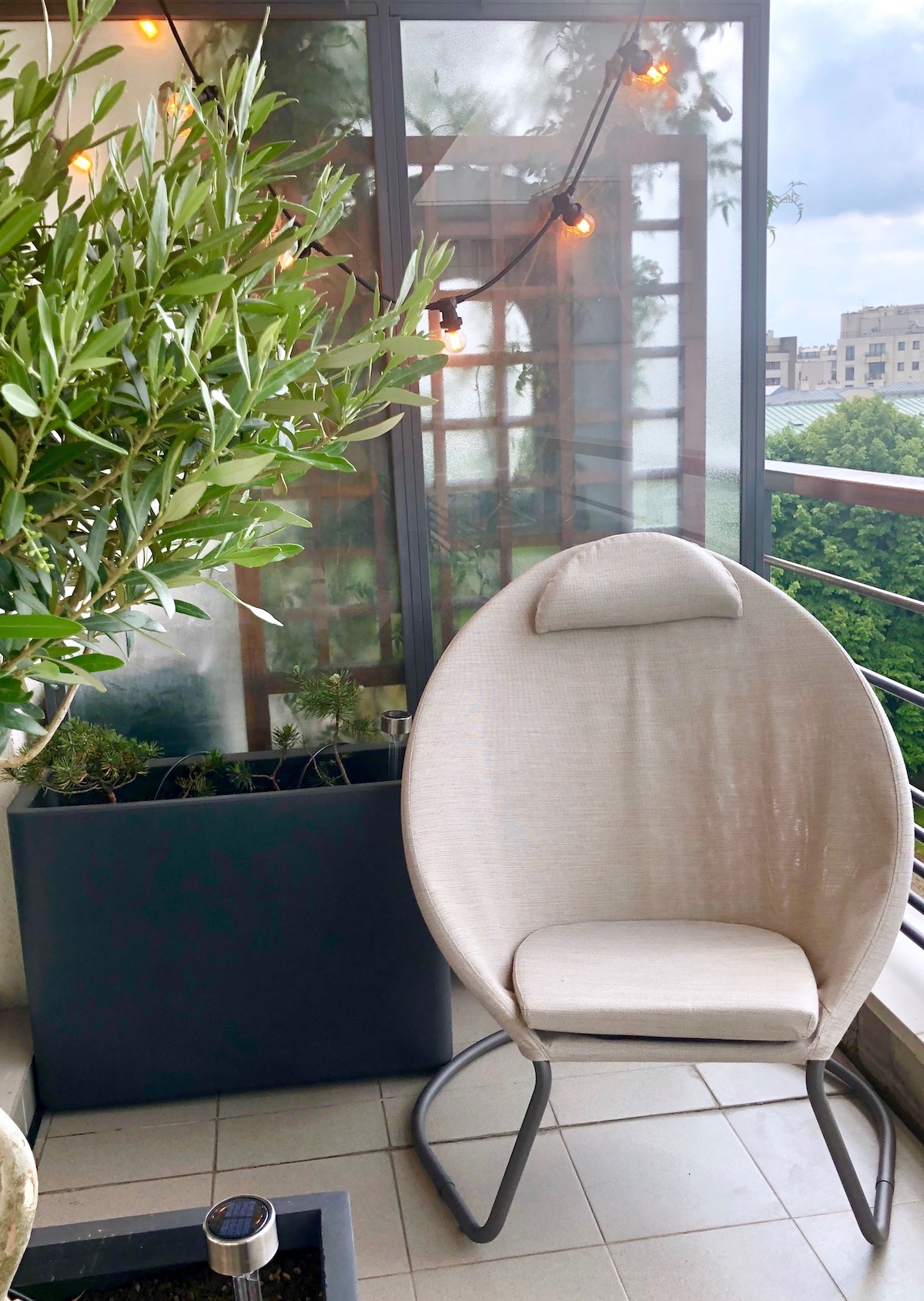 terrasse paris fauteuil lafuma lounge avis guirlande guinguette ampoule filament vintage