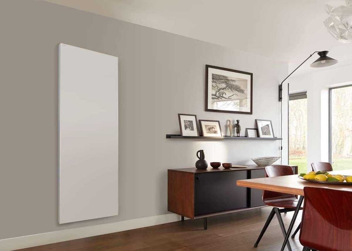 Acova Radiateur électrique design surface lisse 1500W Blanc salon décoration intérieure - blog déco - clematc