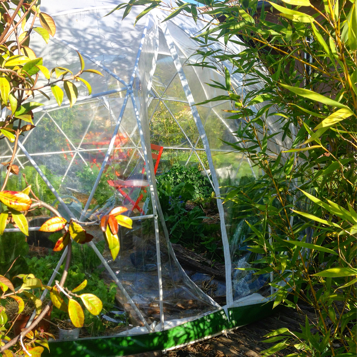 garden igloo bulle de jardin potager jardinage serre design originale - blog déco - clematc