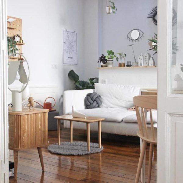 La loutre scandinave intérieur design tendance salon décoration - blog déco - clematc
