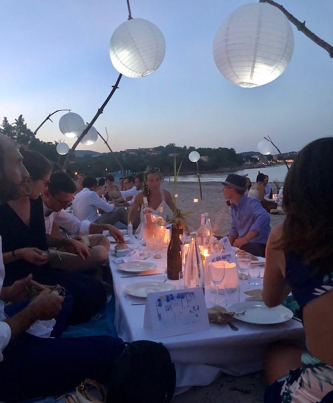 repas mariage plage chic décontracté diy romantique
