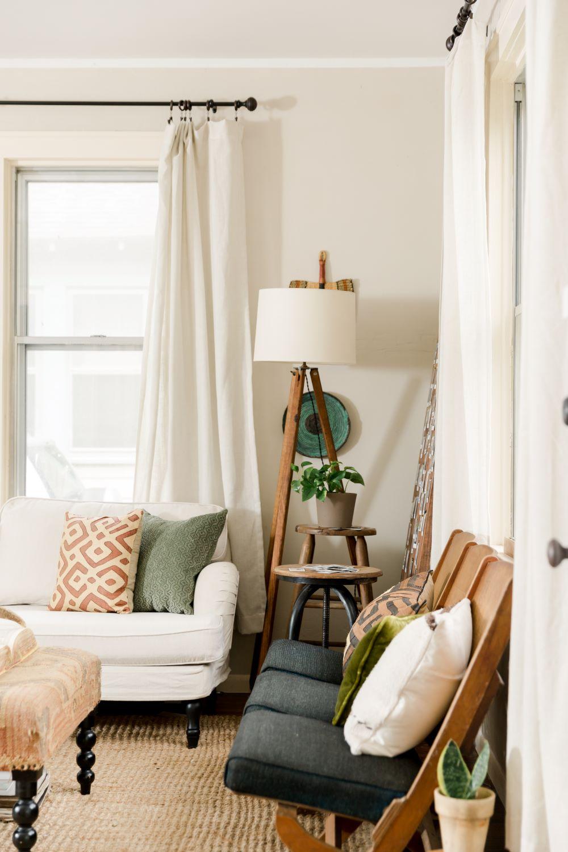 salon minimaliste texas style rustique bohémien blog déco
