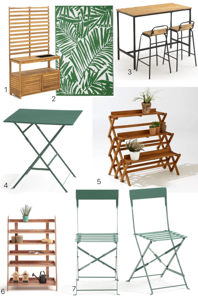 meuble jardin balcon bois design jardiniere pas cher - blog deco - clem around the corner