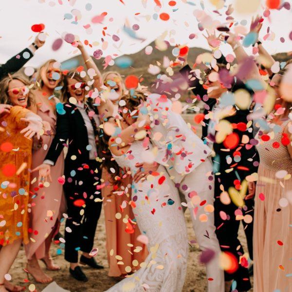 canon à confettis diy décoration mariage cérémonie laïque - blog déco - clem around the corner