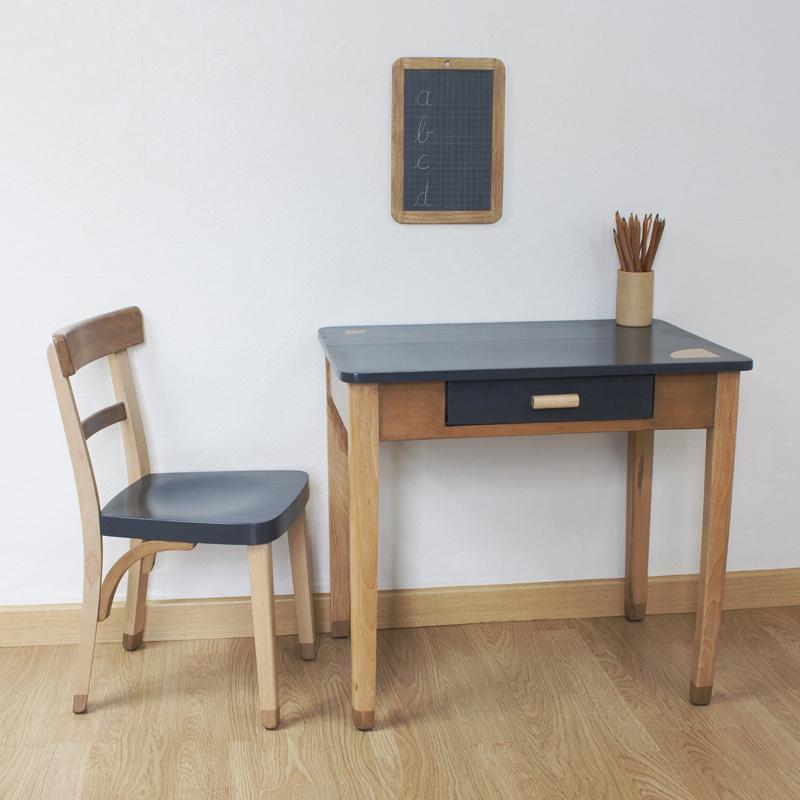 san fransisco bureau enfant bois restauration meuble vieux idée originale bricolage
