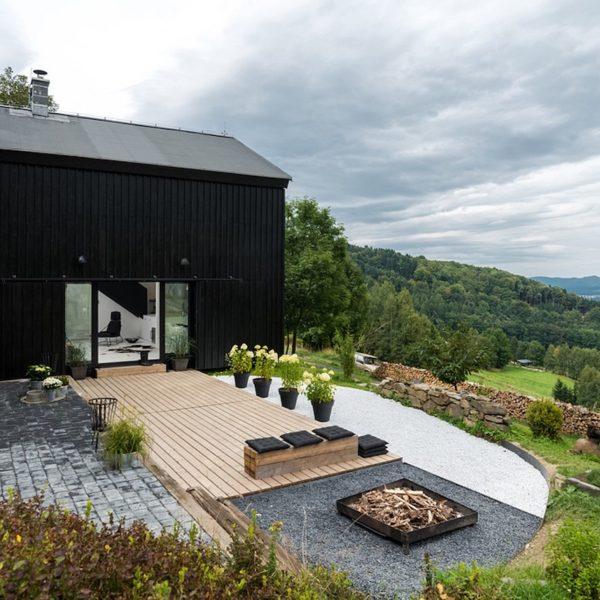 Grange rénovée et aménagée en loft - blog déco - clem around the corner