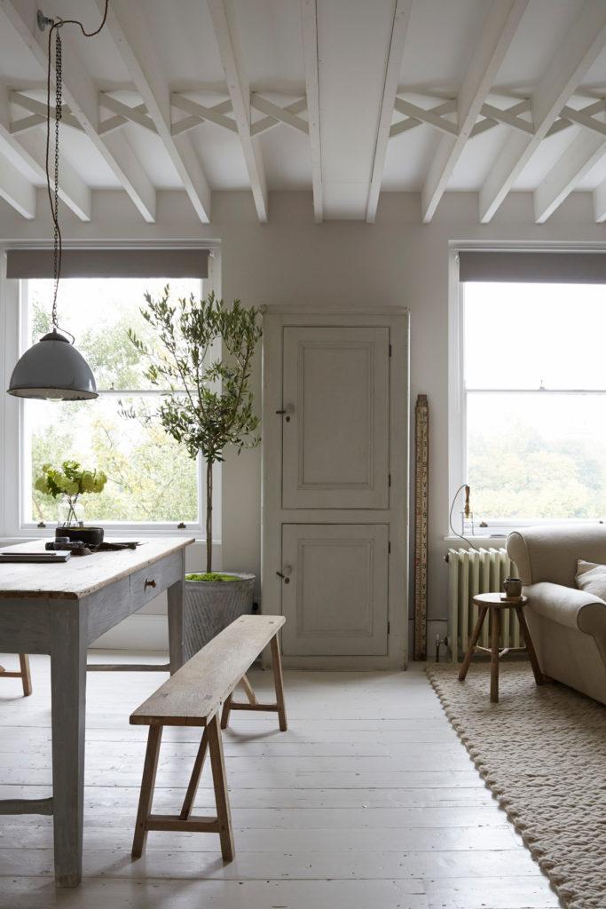 salle à manger olivier style campagne moderne épurée design