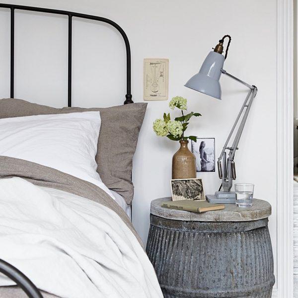 chambre décoration industriel vintage - blog design - clem around the corner