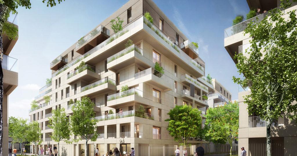 résidence senior investissement locatif design clichy la garenne 92