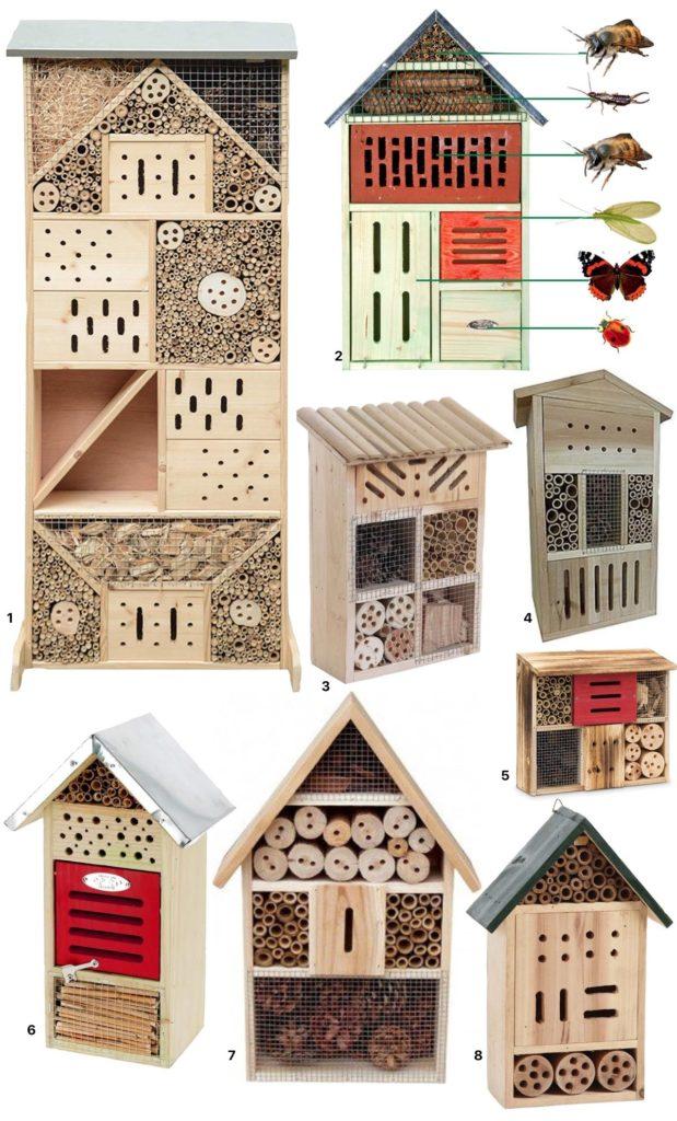 fabriquer un hotel insecte design bois jardin écoresponsable diy