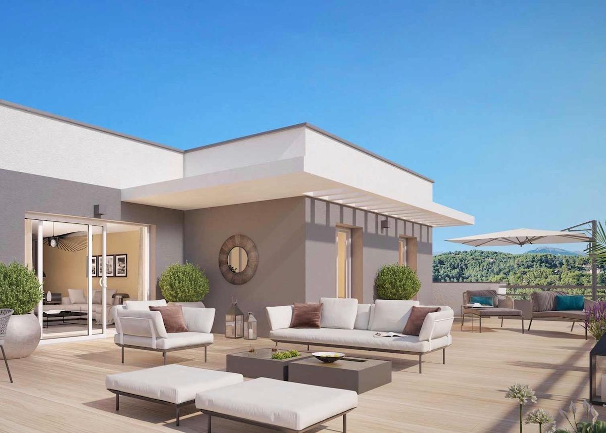 conseil raison investir immobilier neuf terrasse appartement salon extérieur design