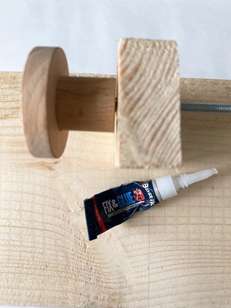 tutoriel bricolage jeu en bois colle bostik idée cadeau noel à fabriquer