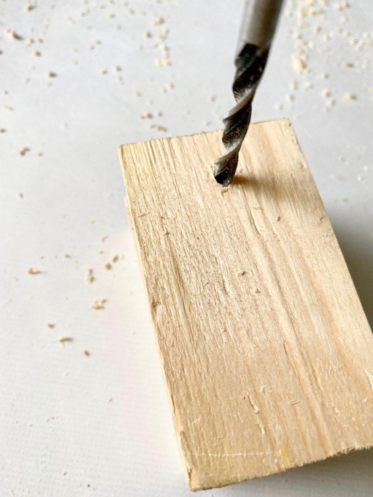comment percer bloc bois pin pour conception meuble enfant
