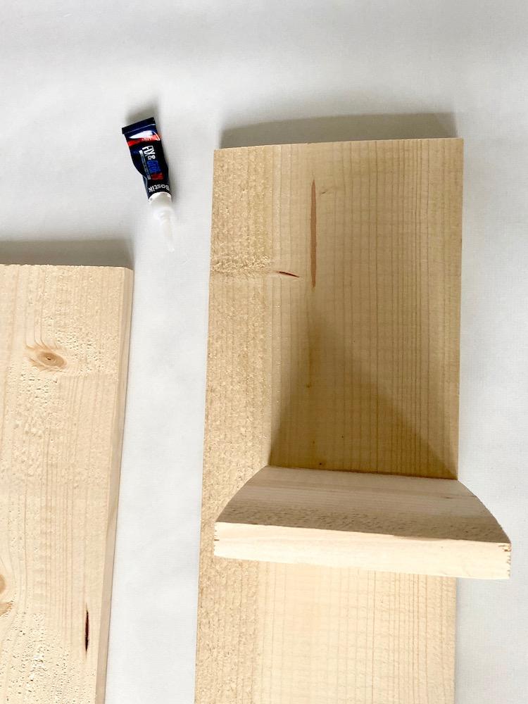 coller morceau bois idée planche solide test avis conseil