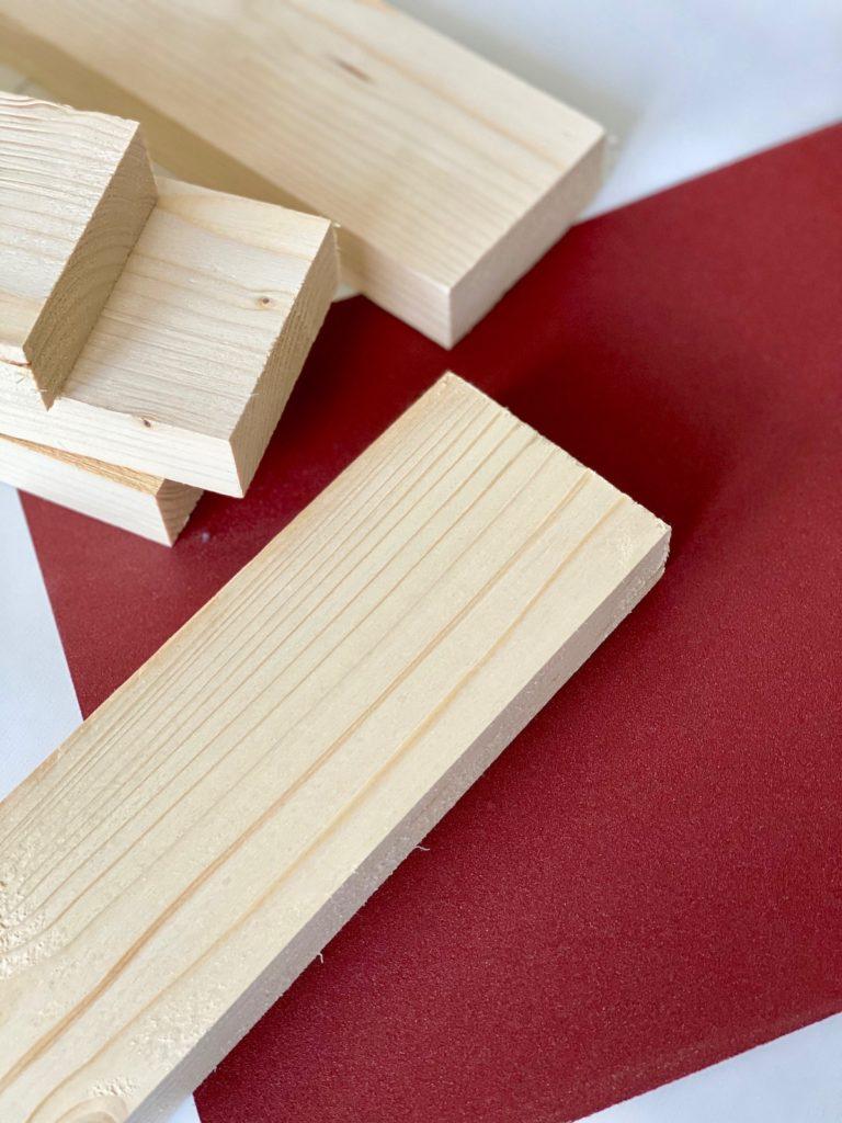 technique poncage main papier de verre choix taille grain tasseau