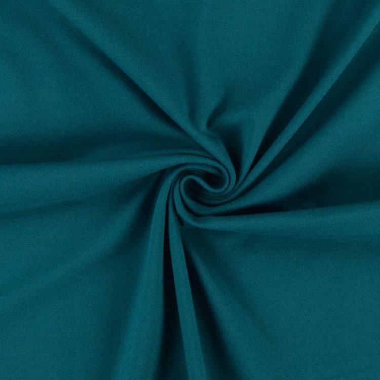 tissu bleu pétrole déco intérieure inspiration clematc