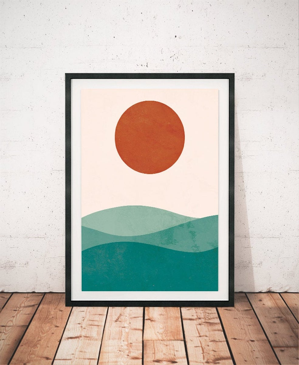 Illustration Poster Art Frame Les Temps Moderne