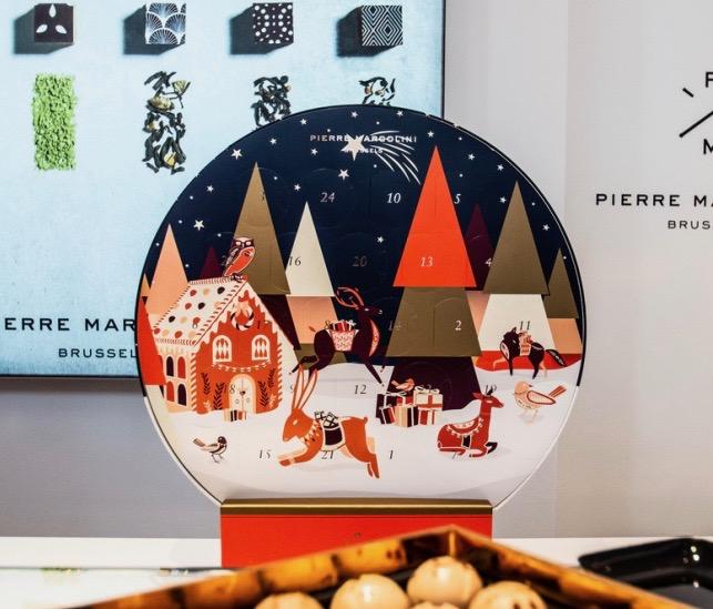 calendrier avent 2019 chocolatier recette pierre marcolini
