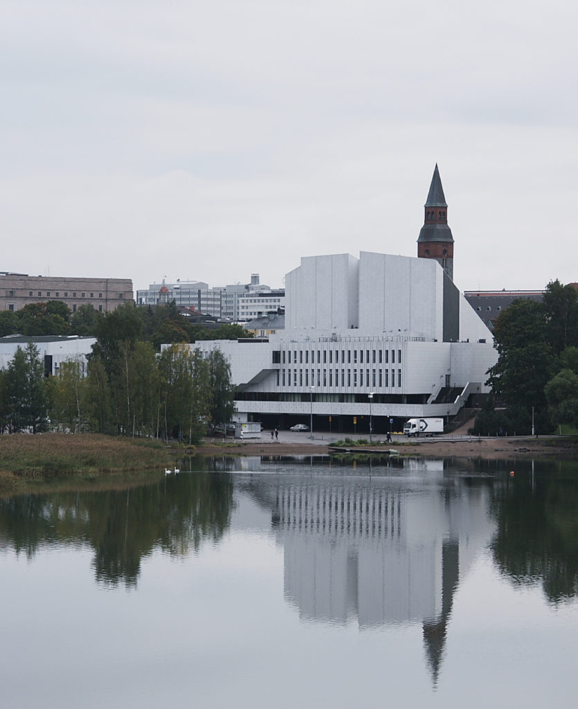 finlandia hall alvar aalto trompe oeil toolonlahti bay musée national de Finlande