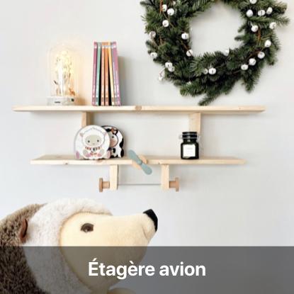 diy bricolage chambre enfant étagère avion en bois tutoriel facile meuble