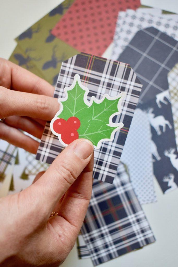 calendrier de l avent instax tutoriel déco de Noël pour petit enfant