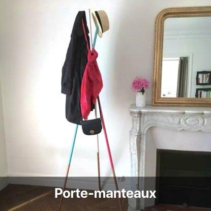 porte-manteau branche bois mikado - blog diy décoration intérieur - clem around the corner