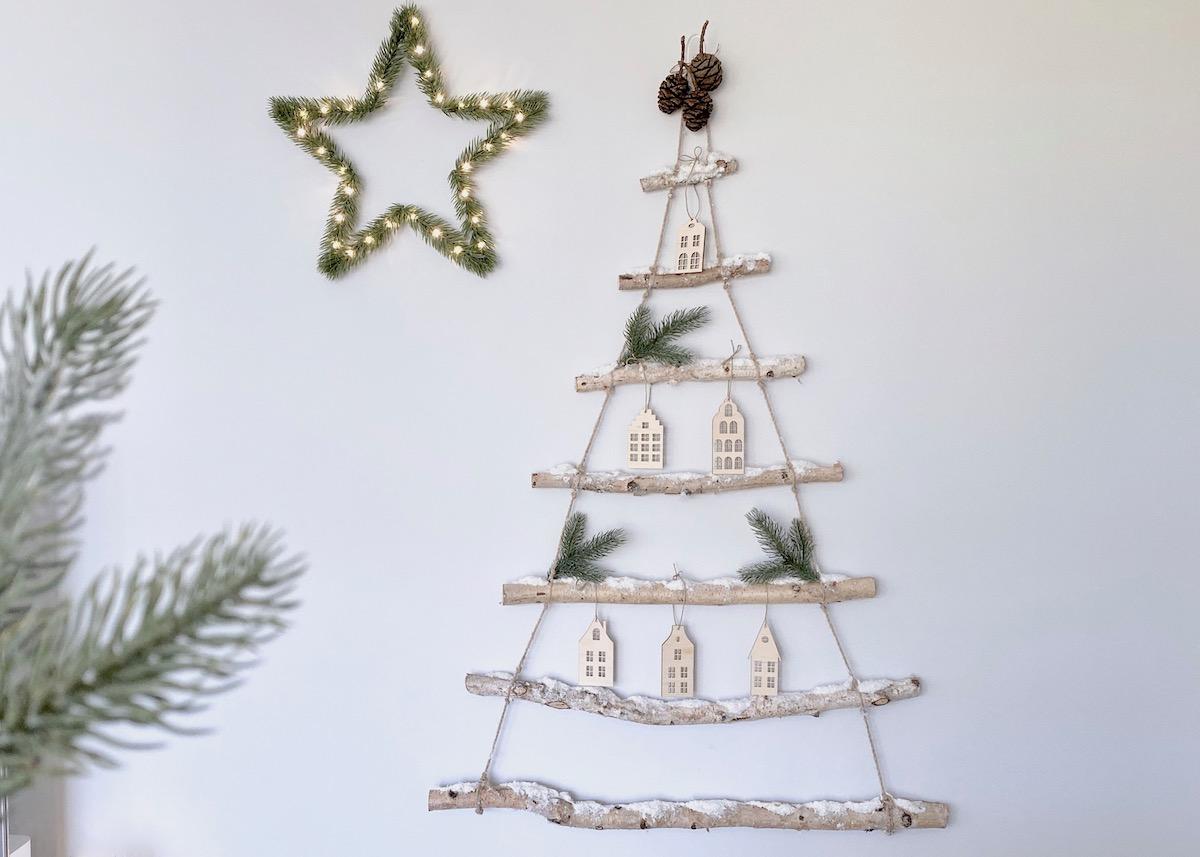 décorer ses murs sans percer noël - blog décoration - clem around the corner