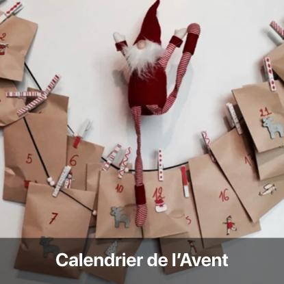 calendrier avent à fabriquer avec enfant pochette facile idée noel