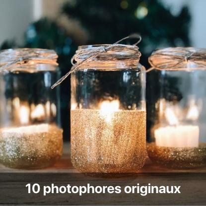 photophore personnalisé mariage tutoriel - blog diy création déco - clem around the corner