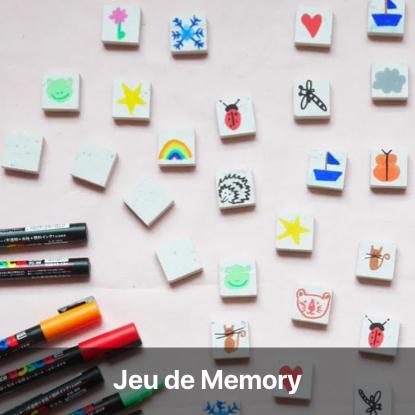 jeu memory tutoriel - blog diy création déco - clem around the corner