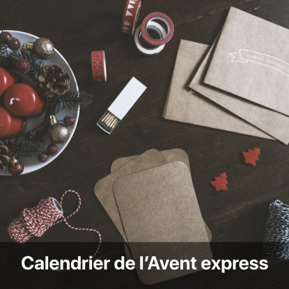 calendrier avent express tutoriel - blog diy création déco - clem around the corner