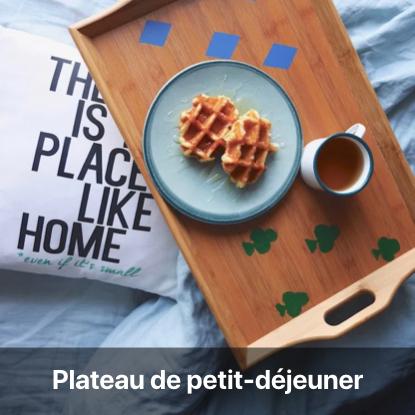 plateau pdj personnalisé tutoriel - blog diy création déco - clem around the corner