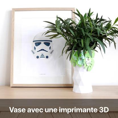 vase imprimante 3d patron gratuit tutoriel - blog diy création déco - clem around the corner