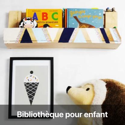 bibliothèque palette tutoriel - blog diy création déco - clem around the corner