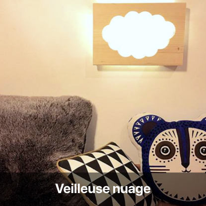 veilleuse nuage perceuse tutoriel - blog diy création déco - clem around the corner