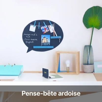 pense-bête ardoise tutoriel - blog diy création déco - clem around the corner