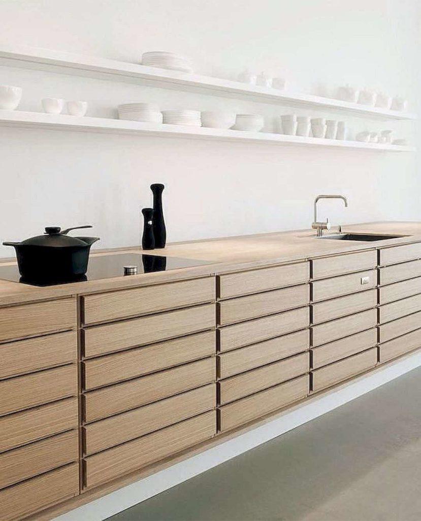 blog déco aménagement cuisine moderne contemporaine bois