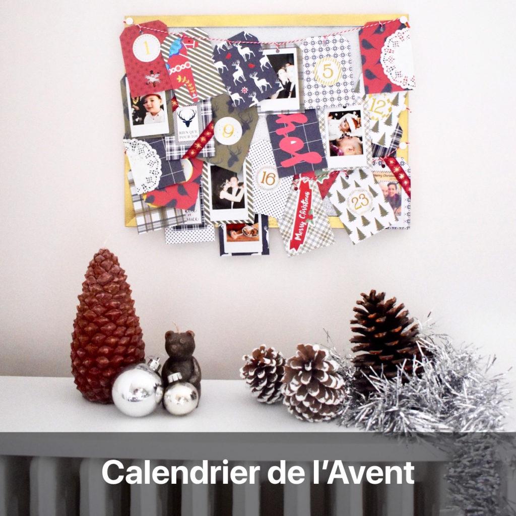 calendrier avent instax photo souvenirs - blog création décoration - clem around the corner