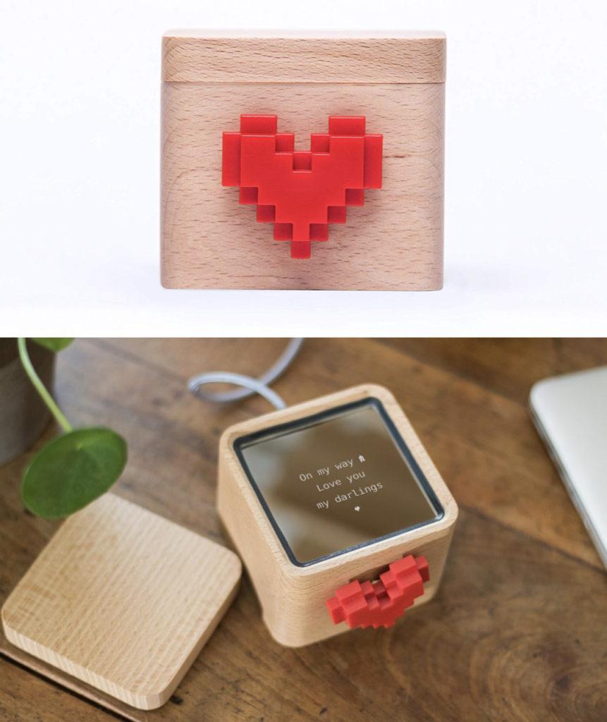 idée romantique message communiquer relation à distance