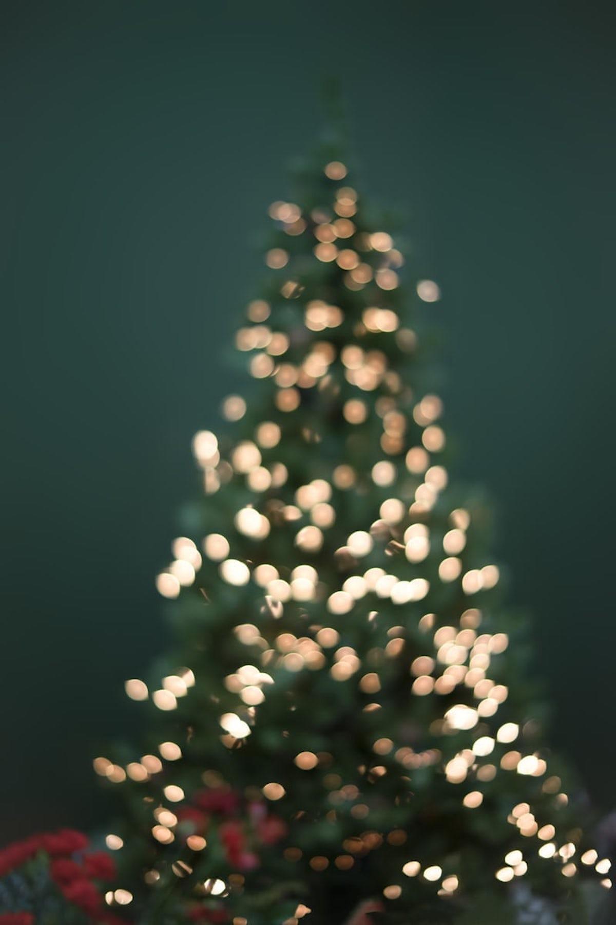 sapin de noël artificiel ou naturel décoration fêtes de fin d année - blog déco - clemaroundthecorner