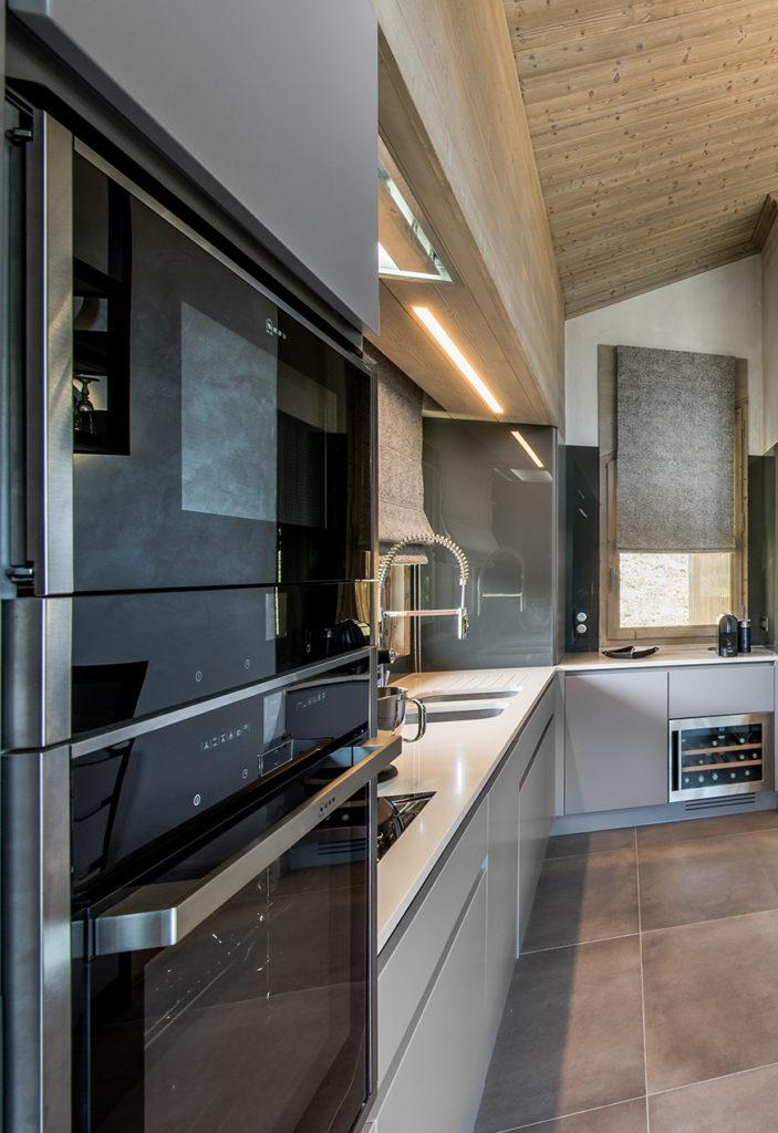 cuisine moderne style industriel gris blog déco
