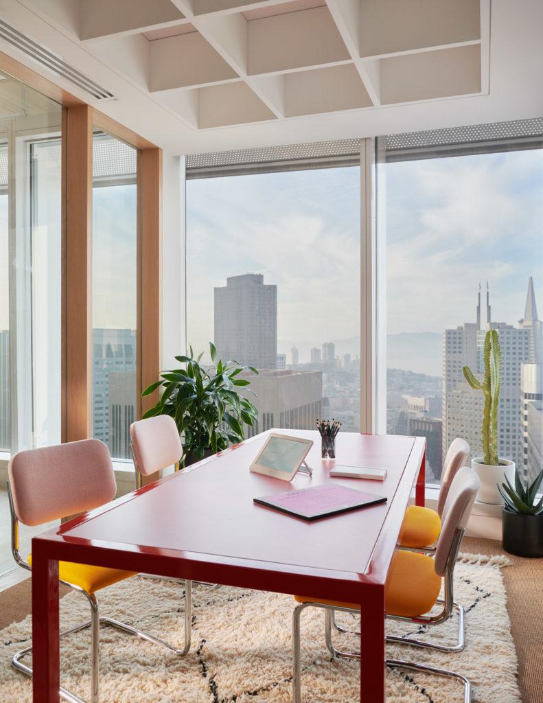 wework headquarters salesforce tower interiors offices san Francisco california paris
